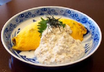 豆腐オムライス